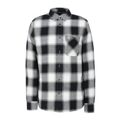 YOOX - CALVIN KLEIN JEANS シャツ ブラック S コットン 100% シャツ