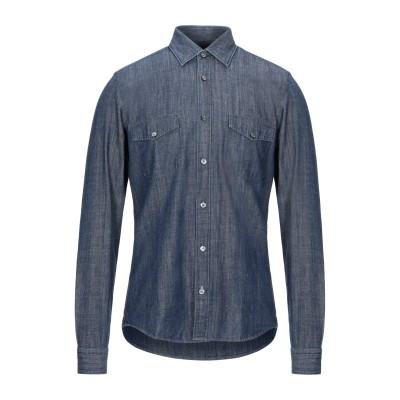 BOSS HUGO BOSS デニムシャツ ブルー XL コットン 100% デニムシャツ