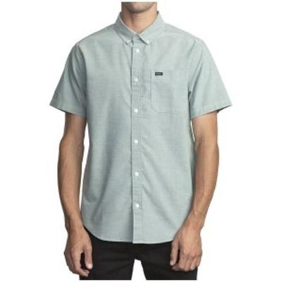 ルーカ メンズ シャツ トップス RVCA That'll Do Stretch Short-Sleeve Shirt Pavement