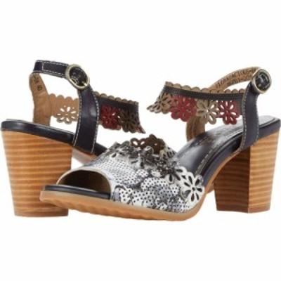 スプリングステップ LArtiste by Spring Step レディース サンダル・ミュール シューズ・靴 Floradacious Black Multi Leather