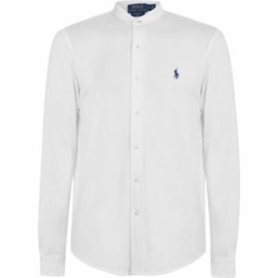 ラルフ ローレン Polo Ralph Lauren メンズ シャツ トップス Polo Grandad Shrt Sn03 White