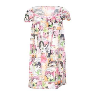 FEMME by MICHELE ROSSI ミニワンピース&ドレス ピンク 40 ポリエステル 100% ミニワンピース&ドレス