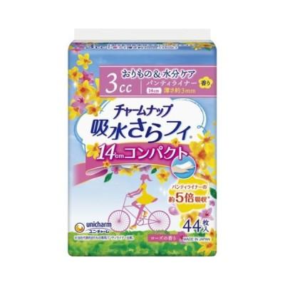 チャームナップ 吸水さらフィ コンパクト 3cc ローズの香り 44枚入/チャームナップ 尿漏れパッド