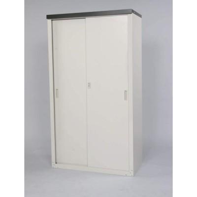 グリーンライフ(GREEN LIFE) 家庭用収納庫 ライトグレー 幅89×奥行47×高さ162cm HS-162