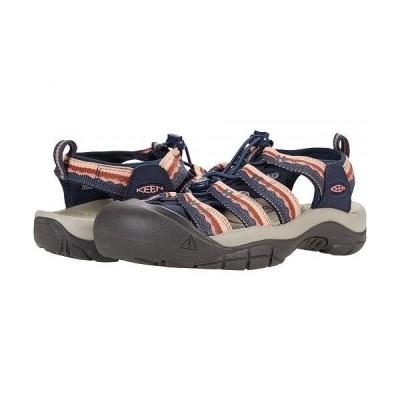 Keen キーン レディース 女性用 シューズ 靴 サンダル Newport H2 - Navy/Rose Dawn