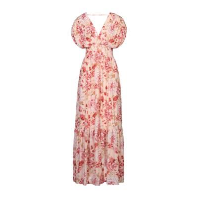 TWENTY EASY by KAOS ロングワンピース&ドレス ピンク 38 ポリエステル 100% ロングワンピース&ドレス