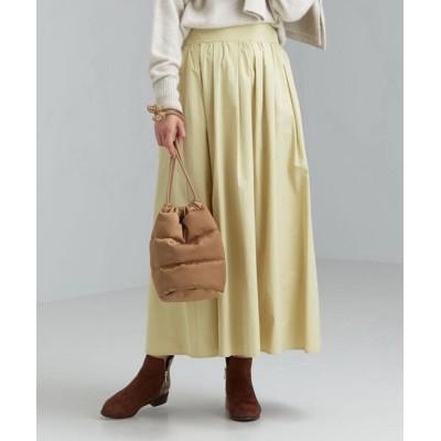 green label relaxing / FFC メモリー ギャザー フレア スカート WOMEN スカート > スカート