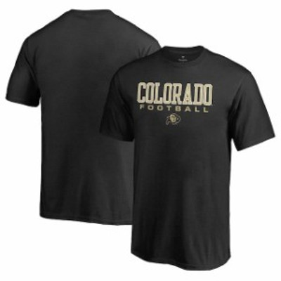 Fanatics Branded ファナティクス ブランド スポーツ用品  Fanatics Branded Colorado Buffaloes Youth Black True Sport Football T-Shi