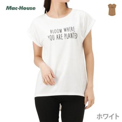 半袖Tシャツ レディース クルーネック ロゴ シンプル ネコポス対応