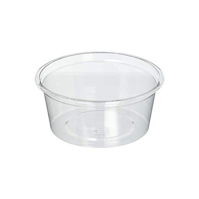 中央化学 使い捨て 容器 テイクアウト ランチ 弁当 日本製 丸型 C-AP丸カップ 本体 50枚入 200ml 直径10.1×4.4cm 101-2
