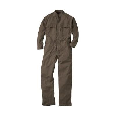 桑和(SOWA) 続服 81/ブラウン 3Lサイズ 9000 作業着 作業服 ワークウェア ウエア つなぎ メンズ