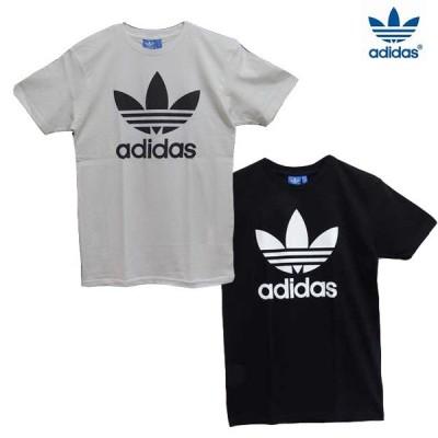 Tシャツ メンズTシャツ 半袖Tシャツ SALE!!! ブラック ホワイト トレフォイル adidas adi trefoil TEE ad-ts001