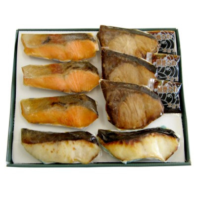 魚道楽 レンジで簡単焼魚セット