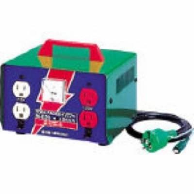 日動 変圧器昇圧器ハイパワー2KVAアース付タイプ 235 x 235 x 204 mm ME20 1点