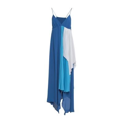 BEN TAVERNITI™ UNRAVEL PROJECT 7分丈ワンピース・ドレス アジュールブルー XS アセテート 76% / シルク 24