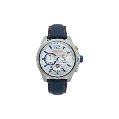Police Mens Chronograph Quartz Watch with Leather Strap PL.15403JS/04【並行輸入品】