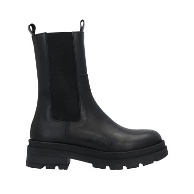 DIVINE FOLLIE ショートブーツ ブラック 36 牛革(カーフ) ショートブーツ