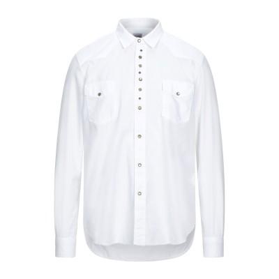 OFFICINA 36 シャツ ホワイト M コットン 100% シャツ