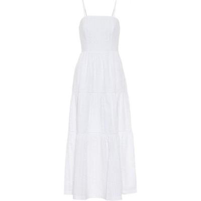 ハイジ クライン Heidi Klein レディース ワンピース マキシ丈 ワンピース・ドレス fraser island seersucker maxi dress White