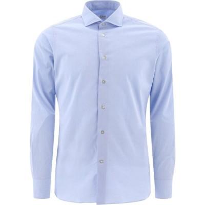 """ボリエッロ Borriello メンズ シャツ トップス """"Idro"""" Shirt Light Blue"""