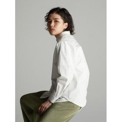 【コエ】 バンドカラーシャツ レディース オフホワイト F koe
