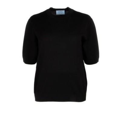 プラダ レディース ニット&セーター アウター Prada Short Sleeves Pullover -
