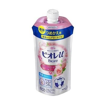 【花王】ビオレu エンジェルローズの香り つめかえ用 340ml ×3個セット