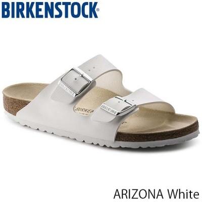 ビルケンシュトック サンダル レディース メンズ アリゾナ ARIZONA ベルト サマーサンダル おしゃれ 幅狭 ナロー ホワイト BIRKENSTOCK GC051733 国内正規品