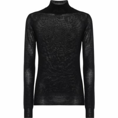 ジョゼフ Joseph レディース ニット・セーター トップス Cashair cashmere mock-neck sweater Black