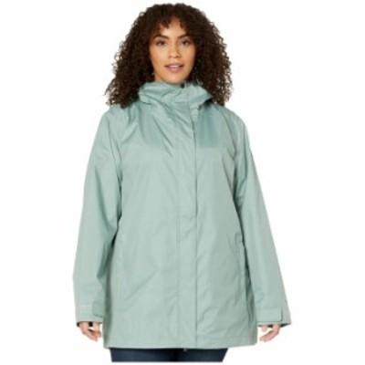コロンビア レディース コート アウター Plus Size Splash A Little II Rain Jacket Light Lichen
