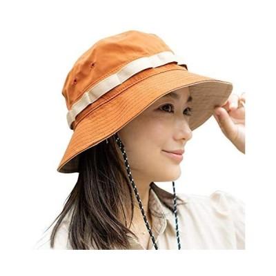 nakota ナコタ LOW HIKE HAT 展開/フリーサイズ バケットハット サファリハット (オレンジ Free Size)