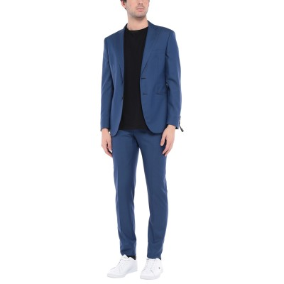 トネッロ TONELLO スーツ ブルー 50 バージンウール 82% / シルク 18% スーツ