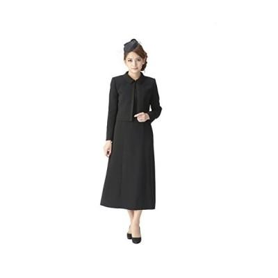 (マーガレット)marguerite m453-17 レディース ブラックフォーマル 喪服 礼服 ロング丈 アンサンブル