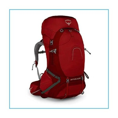 Osprey Atmos Ag 65 Backpack, Rigby Red, Large[並行輸入品]