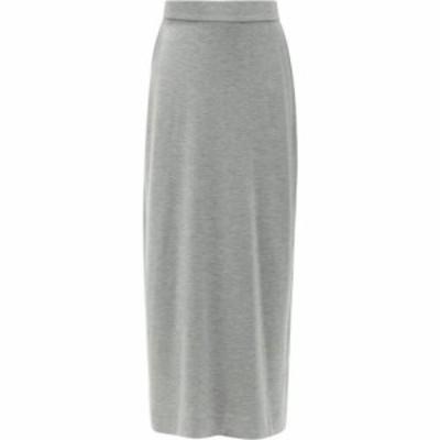 ザ ロウ The Row レディース ひざ丈スカート スカート Bako modal-blend jersey midi skirt Light grey