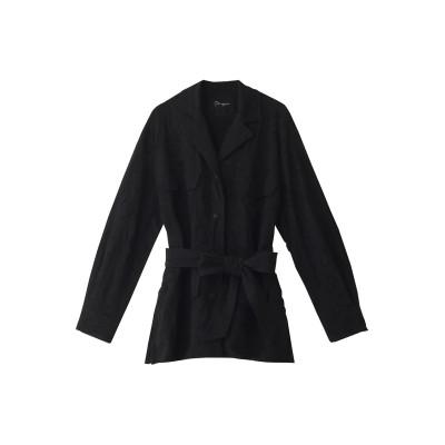 Pheeta フィータ Amelia レーヨン刺繍ジャケット レディース ブラック 2
