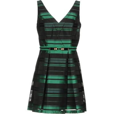 ALLURE ミニワンピース&ドレス グリーン 8 ポリエステル 100% ミニワンピース&ドレス