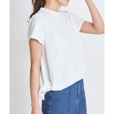 tシャツ Tシャツ 《美香さんコラボアイテム》サイドリボンカットソー