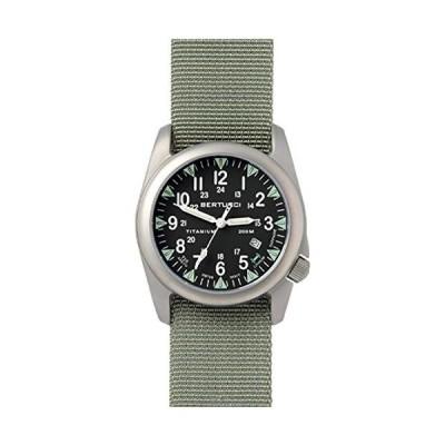 BERTUCCI A-4T Super Yankee Illuminated Watch - Black - Defender Drab Nylon 並行輸入品