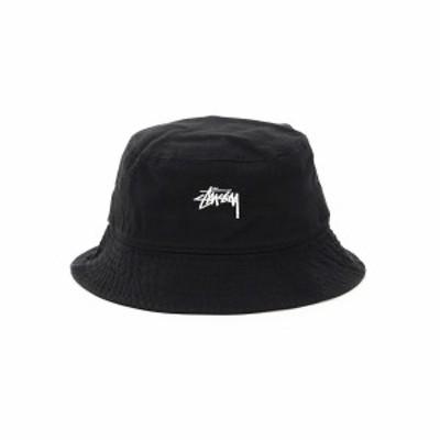 STUSSY/ステューシー Black Stussy stock bucket hat メンズ 春夏2021 1321023 ik
