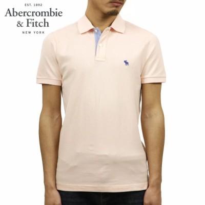 アバクロ ポロシャツ 正規品 Abercrombie&Fitch 半袖ポロシャツ ストレッチ ワンポイントロゴ  STRETCH ICON POLO 124-227-0773-600