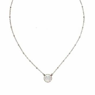 Sorrelli Isabella Pendant Necklace, Antique Silver-Tone Finish, Modern Pearl, One Size (4NEF50ASMDP)