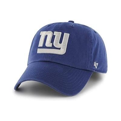 '47 Brand NFL カジュアルキャップ (CLEAN UP CAP/クリーンナップ キャップ) ニューヨーク・ジャイアンツ(ロイヤルブルー)