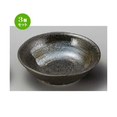 3個セット ☆ 小皿 ☆ 黒水晶3.0深皿 [ 100 x 27mm ] 【料亭 旅館 和食器 飲食店 業務用 】
