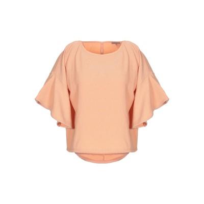 パトリツィア ペペ PATRIZIA PEPE T シャツ あんず色 0 ポリエステル 97% / ポリウレタン 3% / 真鍮/ブラス T シャツ
