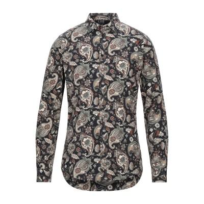 MAIN DELUXE BRAND シャツ ブラック M コットン 97% / ポリウレタン 3% シャツ