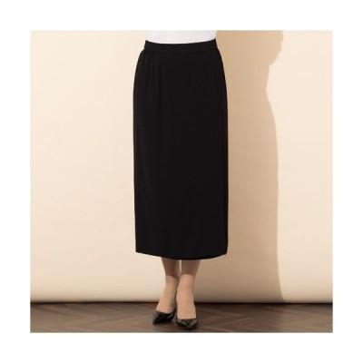 PISANO / ピサーノ バックサテンラップ風タイトスカート[セットアップ対応]