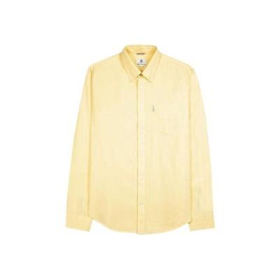Ben Sherman ベンシャーマン / 60s モッド オックスフォードボタンダウンシャツ Yellow -送料無料-