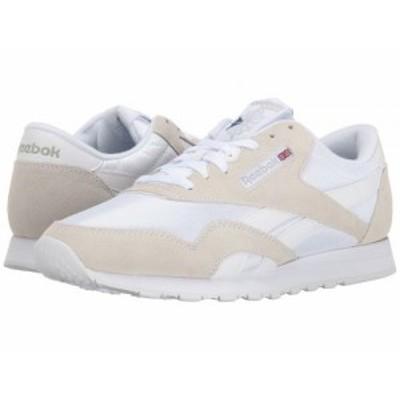 Reebok Lifestyle リーボック メンズ 男性用 シューズ 靴 スニーカー 運動靴 Classic Nylon White/Light Grey【送料無料】