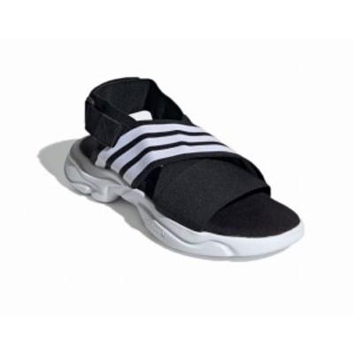 アディダス adidas Originals サンダル 黒 MAGMUR EF5863 ユニセックス 夏物 ブラック スポーツサンダル 厚底 オリジナルス